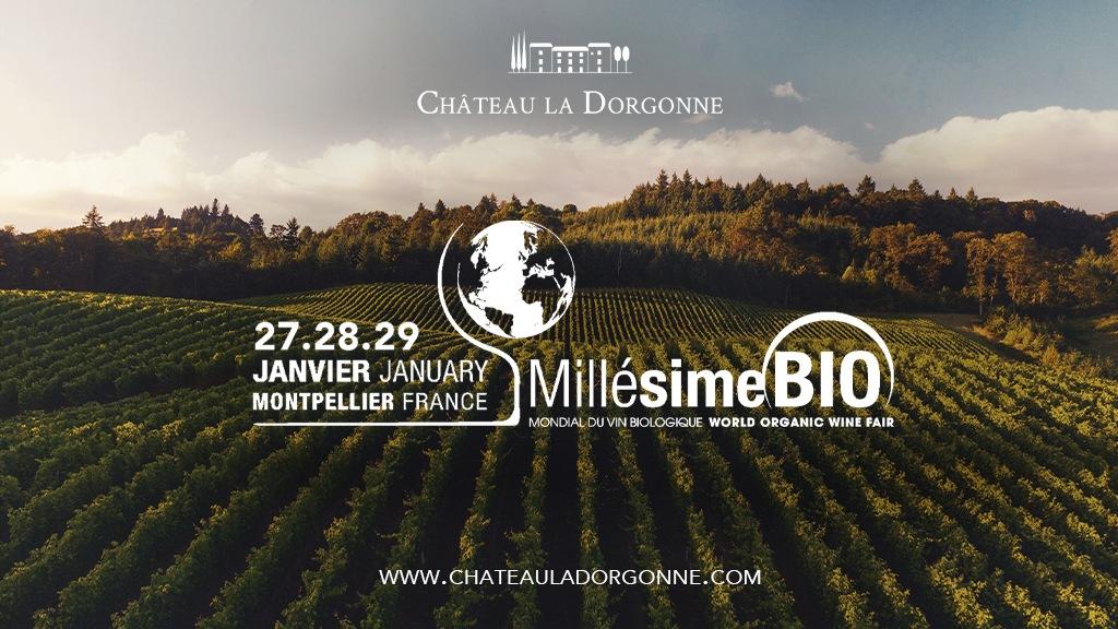 27/01 – 29/01 : Salon Millésime Bio à Montpellier